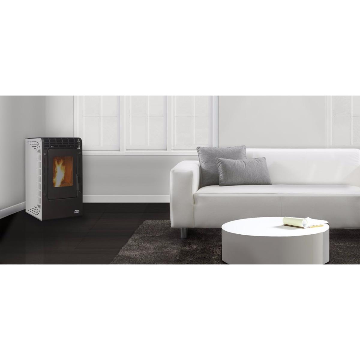 po le granule design et pas cher basic de ecoforest. Black Bedroom Furniture Sets. Home Design Ideas