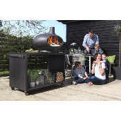 Ensemble barbecue Morso - Forno Grill + Table Garden