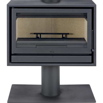 po le bois back box slim 11 kw solzaima po le flamme. Black Bedroom Furniture Sets. Home Design Ideas